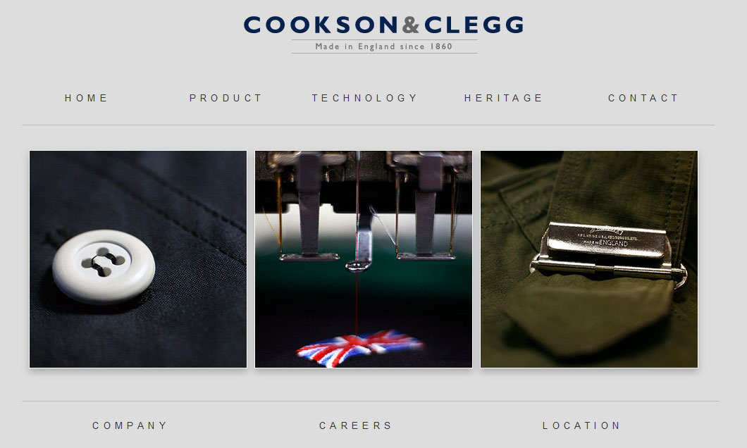 Cookson & Clegg Website