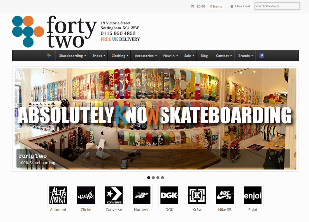 Fortytwo Website