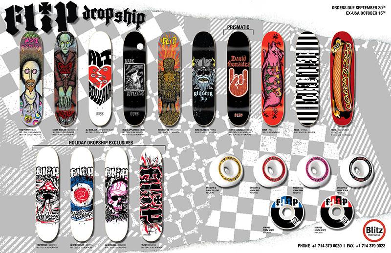 Flip Skateboards 2008 Catalogue