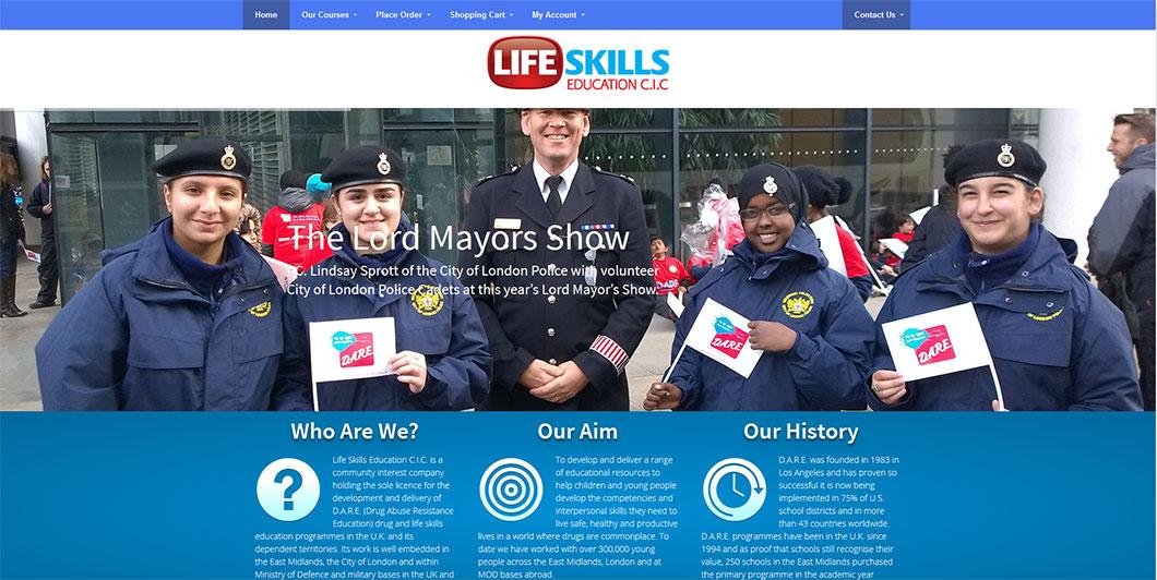 Lifeskills Education website